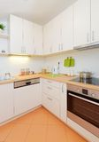 Modern kitchen at home Stock Photos