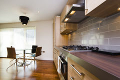 Modern kitchen interior, London Stock Images