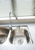 Modern kitchen sink Stock Image