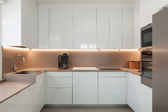Modern kitchen, interior Stock Photo