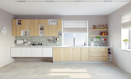 Modern kitchen Stock Photography