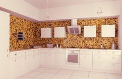 Modern kitchen interior Stock Photo