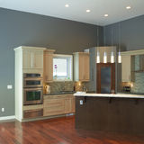 Modern Kitchen Interior Design Royalty Free Stock Photography
