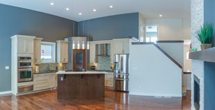 Modern Kitchen Interior Design Royalty Free Stock Photo