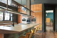 Modern kitchen Stock Photography