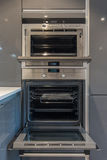 Modern kitchen oven Stock Photography