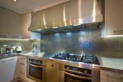 Modern kitchen ovens Royalty Free Stock Photos