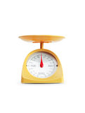 Modern Kitchen Scale stock images
