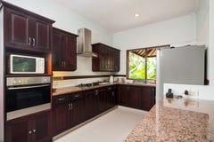 Modern kitchen set Stock Photo