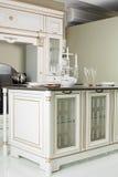 Modern kitchen with stylish furniture Stock Photo