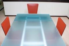 Modern kitchen table Royalty Free Stock Photo