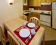 Studio Apartment Kitchen Dining Living Space Royalty Free Stock Photos