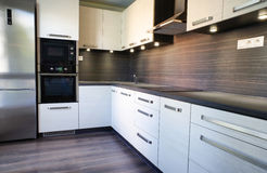 Modern kitchen unit Royalty Free Stock Photo