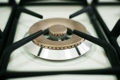 Modern kithchen de oven van het gaspaneel Sluit omhoog royalty-vrije stock fotografie