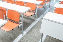 Modern klaslokaal Royalty-vrije Stock Foto's
