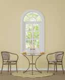 Modern klassisk matsal med gul tolkningbild för färg 3d Arkivbild