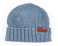 Modern knitted woolen hat Stock Photography