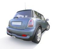 Modern kompakt bil Arkivfoton
