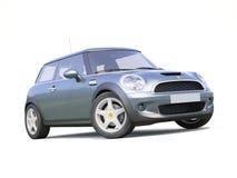 Modern kompakt bil Royaltyfri Bild