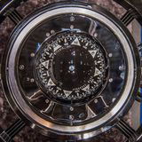 Modern kompass för skepp arkivfoto
