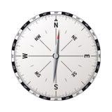 Modern kompassvektor Arkivbild
