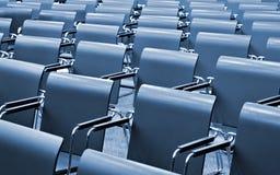 modern kongresskorridor Arkivbild