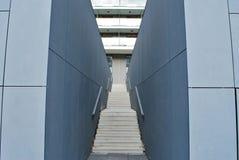 Modern konkret trappa Royaltyfri Bild