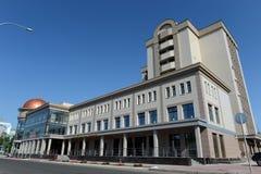 Modern konserthall`-Sibirien ` i Barnaul Fotografering för Bildbyråer