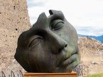 Modern konst i Pompeii Arkivfoton