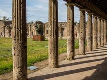 Modern konst i Pompeii Royaltyfri Bild