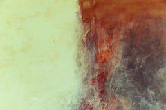 modern konst Samtida konst Konstnärlig väggmålarfärg arkivfoto