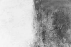 modern konst Samtida konst Konstnärlig väggmålarfärg arkivbild