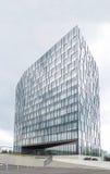 Modern kontorsbyggnad för affär Arkivfoton