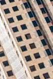 Modern kontorsbyggnad för skyskrapa i St Louis Missouri fotografering för bildbyråer