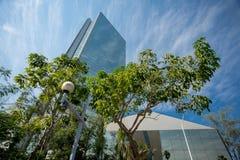 Modern kontorsbyggnad i Guadalajara, Mexico Arkivfoto