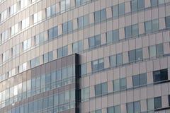 Modern kontorsbyggnadfasad (detaljen) Royaltyfri Bild