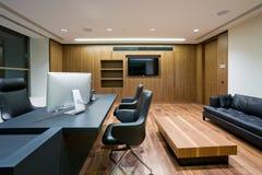 Modern kontorsinre royaltyfri foto