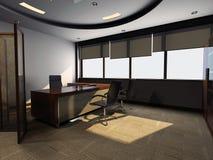 Modern kontorsinre arkivfoton
