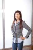modern kontorskvinna för affär royaltyfri fotografi