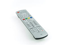 Modern kontrollant för silverhög-slut TV Arkivbilder