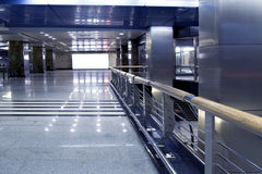 modern korridor Royaltyfri Bild