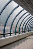 modern korridor fotografering för bildbyråer