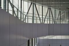Modern korridor för Kuala Lumpur Central station arkivbilder
