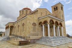 Modern kristen domkyrka, Cypern royaltyfria foton