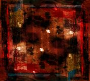 Modern kunst grunge kunstwerk Stock Foto