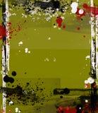 Modern kunst grungy frame vector illustratie