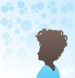 modern kvinna för frisyr vektor illustrationer
