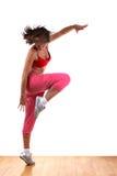 modern kvinna för dansare arkivfoto