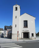 Modern kyrka, Aalst Arkivfoton
