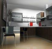 modern lägenhet Arkivbild